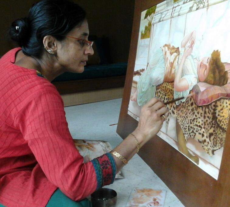 Artist – Nayana Bharat Patel